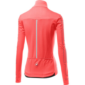 Castelli Transition Kurtka Kobiety, brilliant pink/dark/steel blue